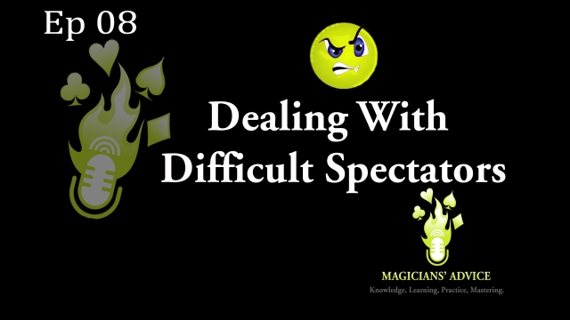 Dealing With Difficult Spectators