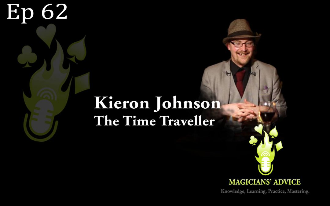 EP62: Kieron Johnson The Time Traveller Podcast Phil Taylor & Ian Brennan