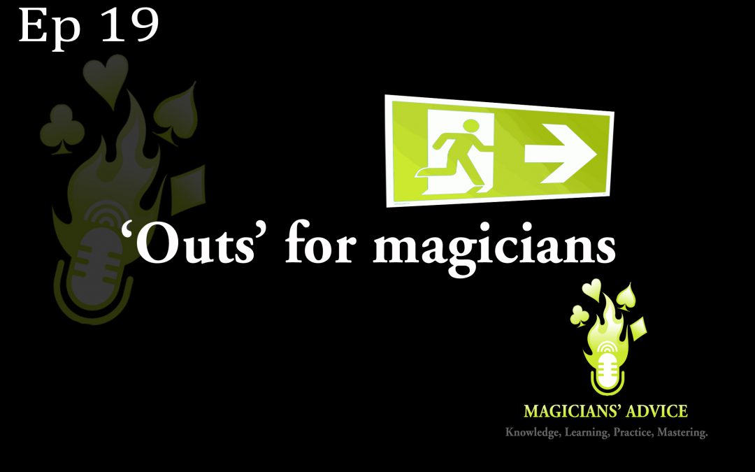 EP 19 out for magician advice podcast