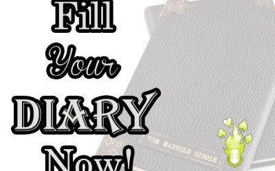 How to fill your magical diary. [read time 12 minutes]