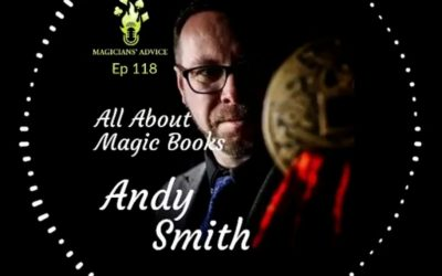 Ep118: All about Magic Books with Andy Smith