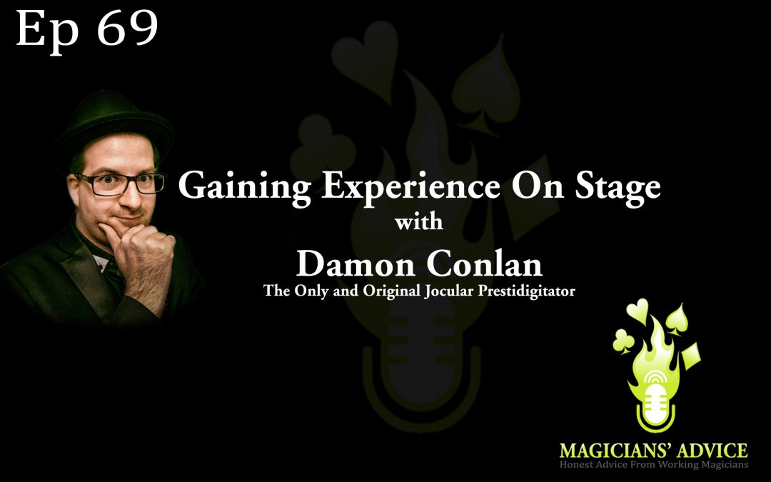 Ep69 Damon Conlan Stage Magic