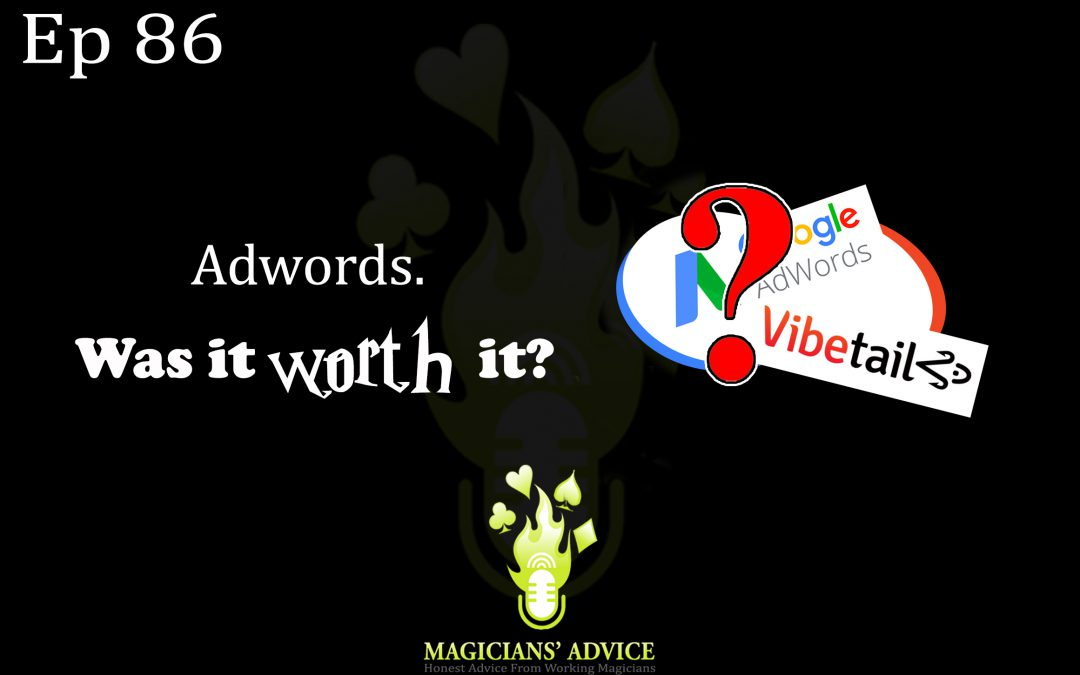 EP86: Adwords and Vibetail: Was It Worth It? With Phil Taylor and Ian Brennan