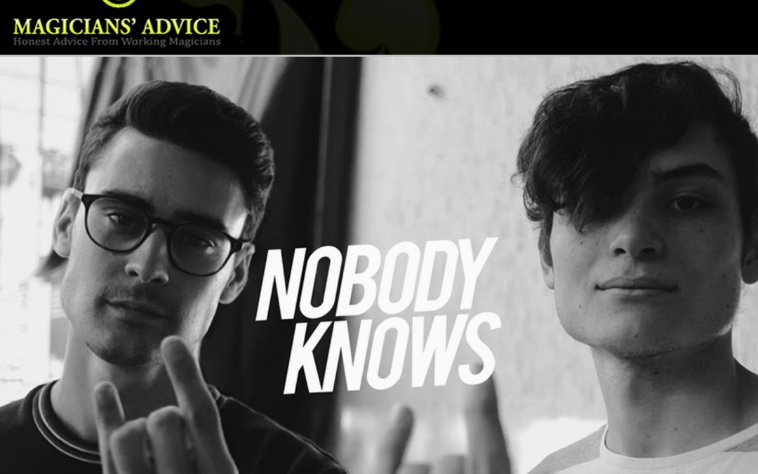 EP:101 Nobody Knows Talk Modern Magic with Phil and Ian