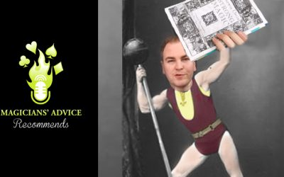 Want To Be A Strong Magician? Strong Magic by Darwin Ortiz | Magicians' Advice Recommends.