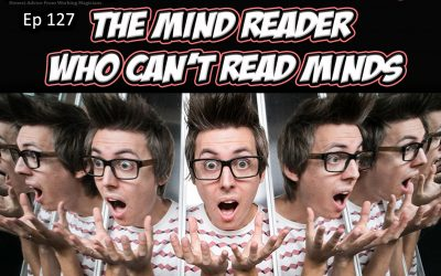 Ep127: A chat with Chris Cox: The Mind Reader Who Can't Read Minds.
