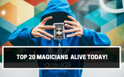 Top 20 Magicians  Alive Today!