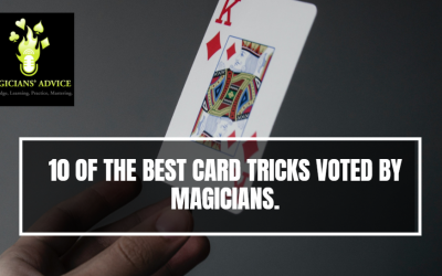 10 Of The Best Card Tricks Voted By Magicians.