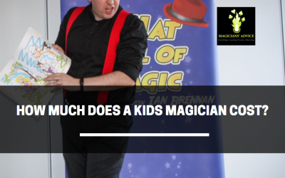 How Much Does A Kids Magician cost?